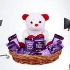 send Cute Teddy Cadbury Chocolate delivery
