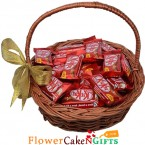 send kitkat chocolates basket delivery