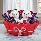 send Cute Basket Of Surprise delivery