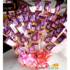 send Dairy Milk Chocolates Bouquet delivery