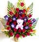 Best Teddy  Roses n Cadbury dairy milk Chocolate Bouquet