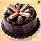 Half Kg Eggless kitkat chocolate cake