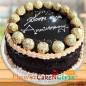 1kg Eggless Ferrero Rochers Chocolate Cake
