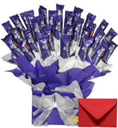 Very Big Dairy Milk Chocolates Bouquet
