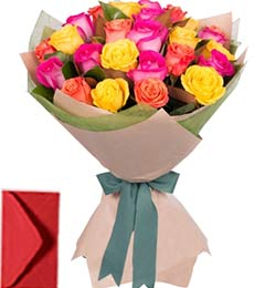 30 Mix Roses Bouquet