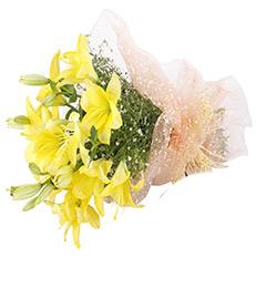 4 Lilies Bouquet