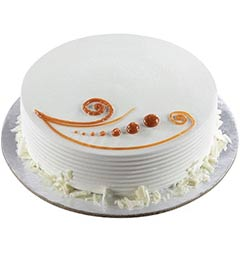 Vanilla Cake Half Kg Any Occasion