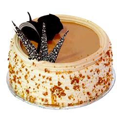 Half kg Butterscotch Cake Any Occasion
