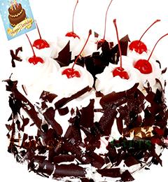 500gms Black Forest Cake