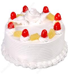 1Kg Eggless Pineapple Cake