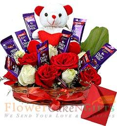 Teddy Chocolate n Bouquet