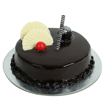 Buy Send Order 1Kg Chocolate Truffles Cake Price Online Delivery