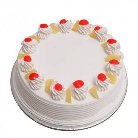Half Kg Pineapple Cake