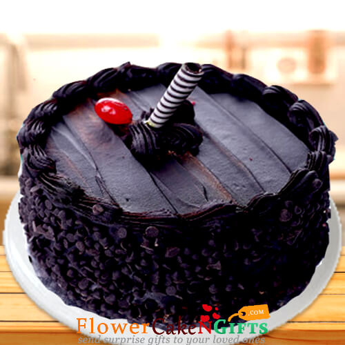 Groovy Send Online 500Gms Death By Chocolate Truffle Cake Order Delivery Funny Birthday Cards Online Inifofree Goldxyz
