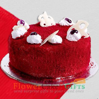 half kg red velvet cake