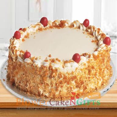 Butterscotch Cake 1kg Any Occasion
