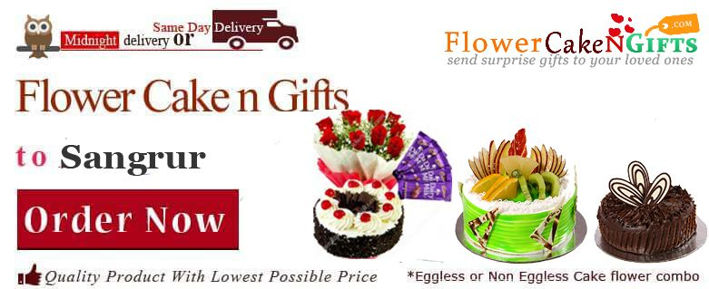 Midnight Anniversary Chocolates Teddy Birthday Eggless Cake Flower Bouquet Delivery To Sangrur Sameday