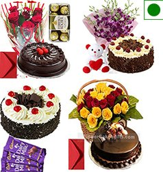 Order Online Heart Shaped Black Forest Cake Home Delivery Services Hoshiarpur Punjab City At Midnight Sameday