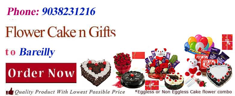 Midnight Anniversary Chocolates Teddy Birthday Eggless Cake Flower Bouquet Delivery To Bareilly Sameday