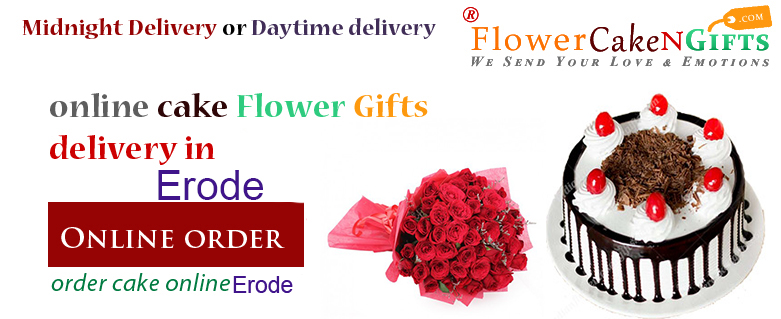 Midnight Anniversary Chocolates Teddy Birthday Eggless Cake Flower Bouquet Delivery To Erode Sameday