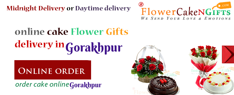 Online Gifts Birthday Cake Flower Delivery In Gorakhpur Order Anniversary Midnight Lowcost