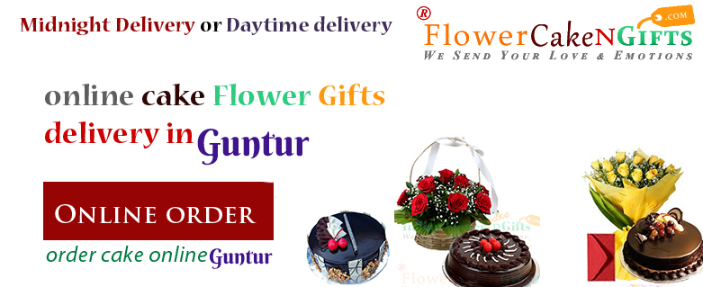 Midnight Anniversary Chocolates Teddy Birthday Eggless Cake Flower Bouquet Delivery To Guntur Sameday