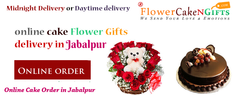 Midnight Anniversary Chocolates Teddy Birthday Eggless Cake Flower Bouquet Delivery To Jabalpur Sameday