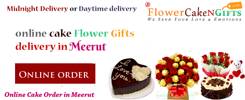 Midnight Anniversary Chocolates Teddy Birthday Eggless Cake Flower Bouquet Delivery To Meerut Sameday