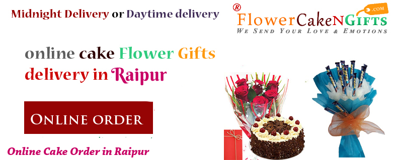 Midnight Anniversary Chocolates Teddy Birthday Eggless Cake Flower Bouquet Delivery To Raipur Sameday
